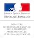 Le logo du Ministère du Travail et de l'Emploi